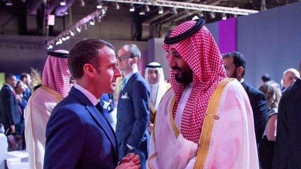 ماکرون با بن سلمان ملاقات می کند