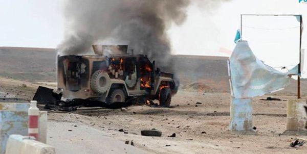 انفجار بمب در مسیر کاروان ائتلاف آمریکا در عراق