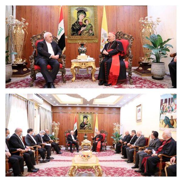 جزئیات دیدار ظریف با سراسقف کلیسای کاتولیک کلدانیان جهان