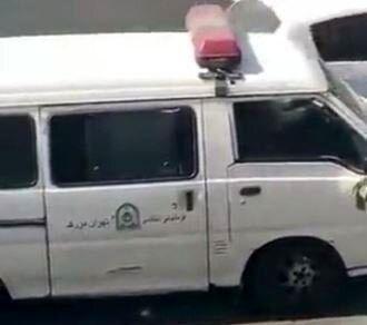 واکنش پلیس به ویدیوی رفتار نامناسب ماموران با یک زن
