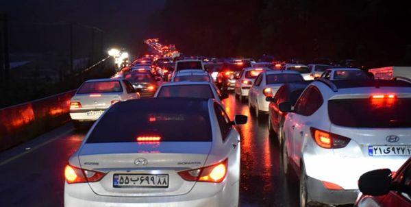 ترافیک در خروجیهای شمال سنگین است