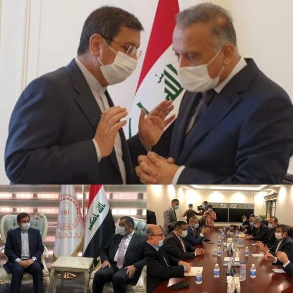 آنچه در سفر امروز رییس بانک مرکزی به عراق گذشت