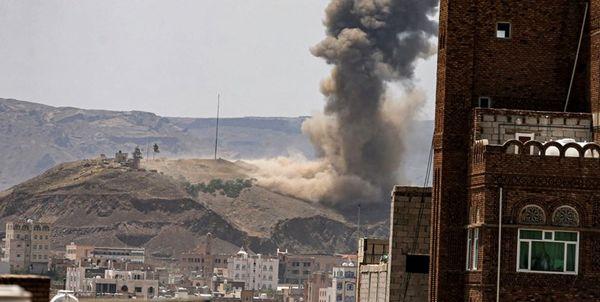 حمله سنگین عربستان به یمن