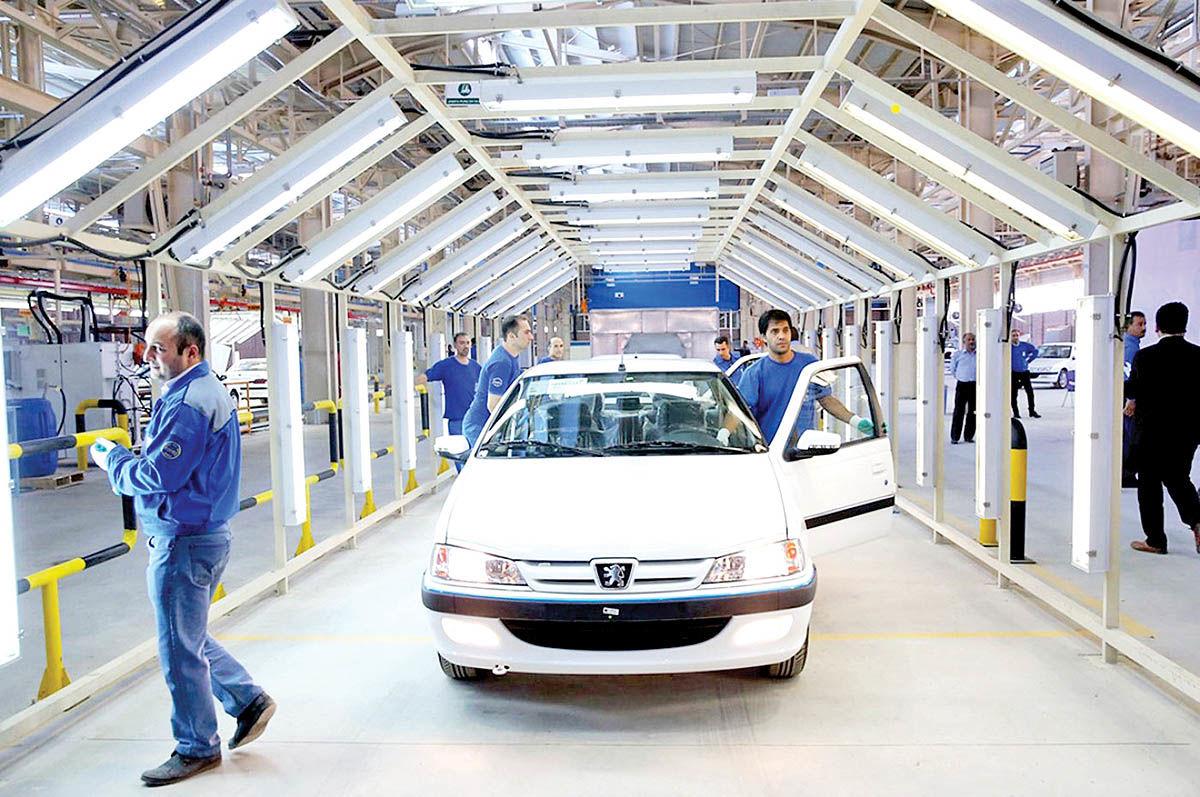 حسگر رونق تولید خودرو