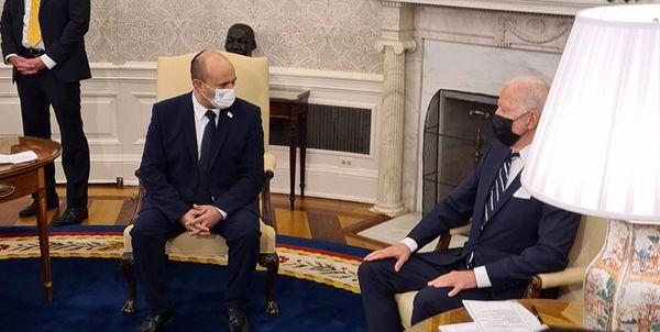 لفاظی ضد ایرانی بایدن و بِنِت پس از دیدار در کاخ سفید
