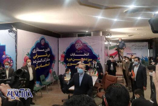 کنایه علی لاریجانی به رئیسی و قالیباف