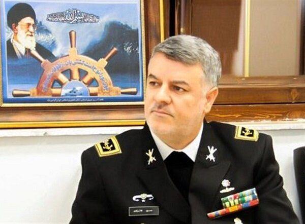 خبر موشکی فرمانده نیروی دریایی ارتش