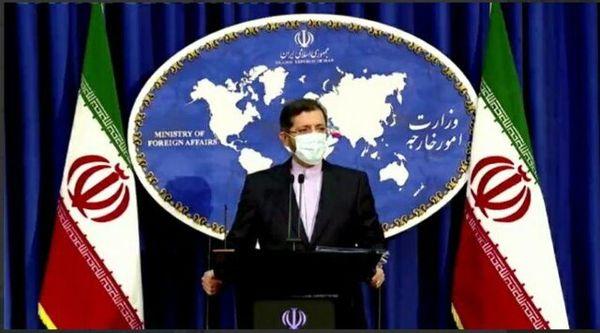 خطیبزاده: گزارشی از شهادت فرمانده ایرانی دریافت نکردهایم