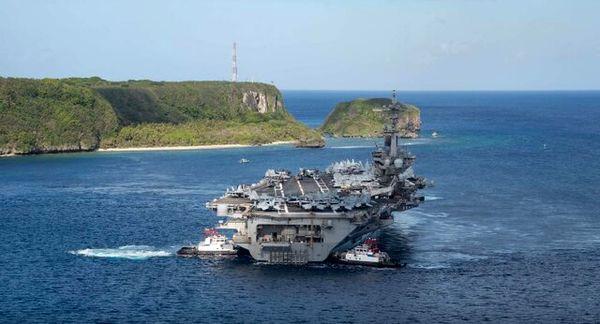 ناو هواپیمابر آمریکایی وارد دریای چین جنوبی شد