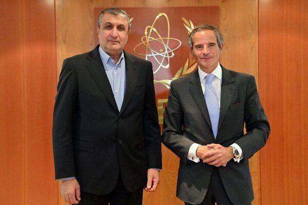 خوشحالی مدیرکل آژانس انرژی اتمی از دیدار با اسلامی