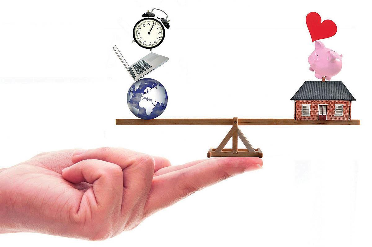 مدیریت تعادل بین کار و زندگی