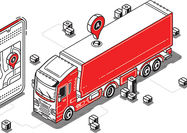 توسعه حملونقل بزرگمقیاس هوشمند جادهای کالا