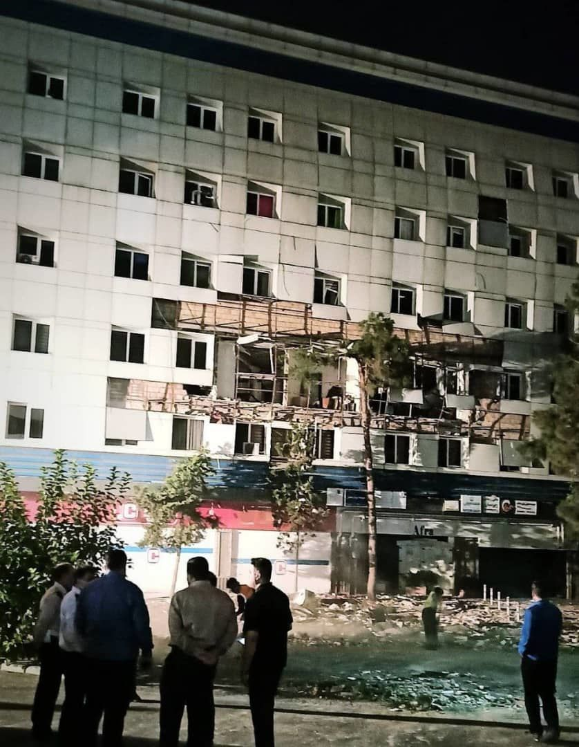 انفجار در غرب تهران