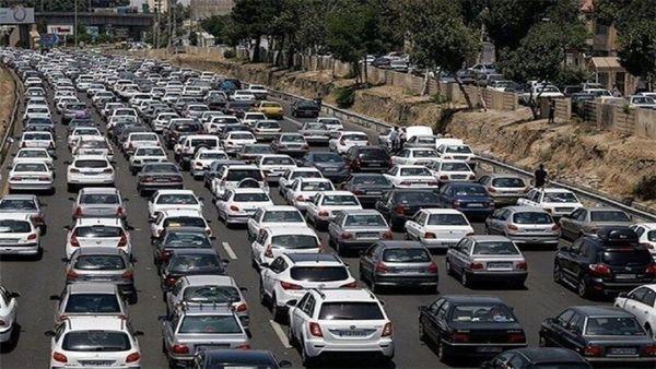 ترافیک پُرحجم در ورودی و خروجیهای مشهد