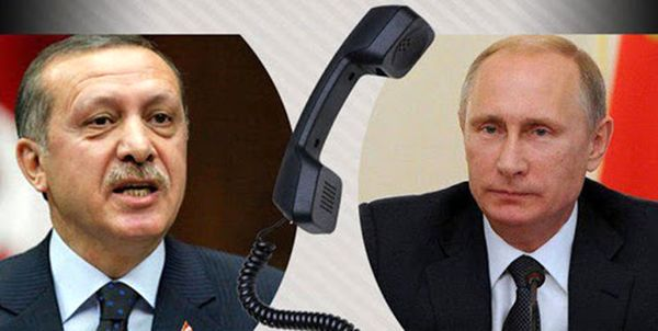 گفتوگوی تلفنی پوتین و اردوغان درباره قرهباغ و سوریه