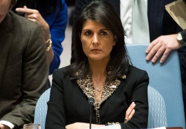 نیکی هیلی: روسیه، ایران و ونزوئلا به آمریکا خندیدند