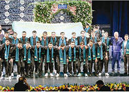 رونمایی از سرود تیم ملی با حضور هنرمندان و ورزشکاران