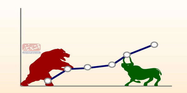 بازار سهام در سال گذشته، 13 روز سبز شاخص برابر 108 روز سرخ