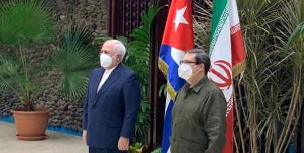 تماس تلفنی ظریف با همتای کوبایی خود