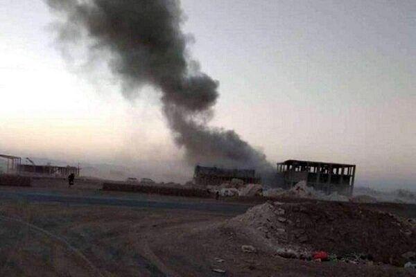 انفجار در مقر نظامی ائتلاف متجاوز سعودی در جنوب یمن