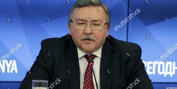 امیدواری اولیانوف به موفق بودن سفیر گروسی به تهران