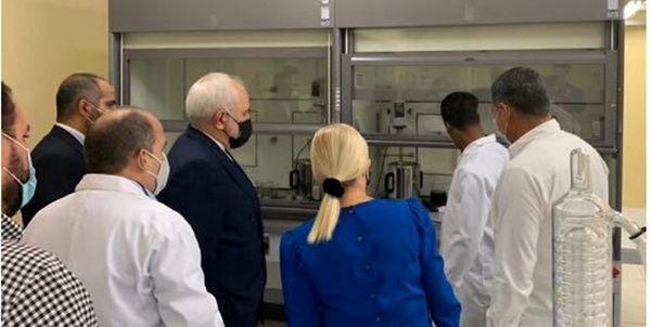 ظریف در جریان پیشرفتها در زمینه تولید واکسن کرونا در کوبا قرار گرفت