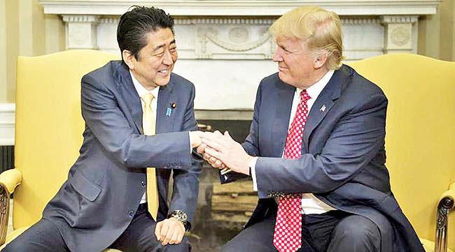 نخستوزیر ژاپن در تهران