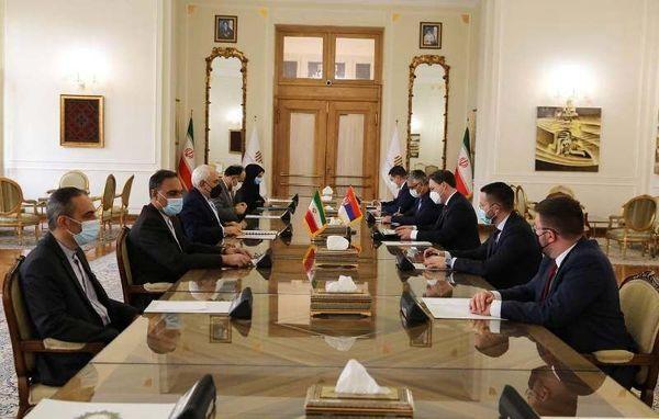 گفتوگوی وزیران امور خارجه ایران و صربستان