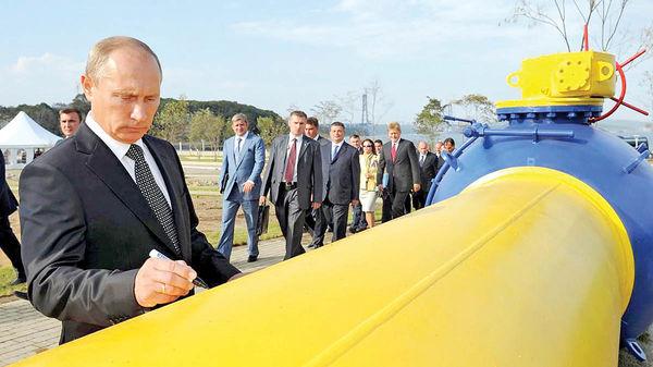 سایهروشن سیاستهای گازی پوتین