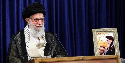 رهبر انقلاب در سخنرانی خود شعر این شاعر را خواندند