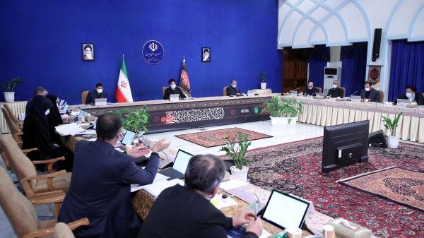 جزئیات جلسه هیات دولت به ریاست ابراهیم رئیسی