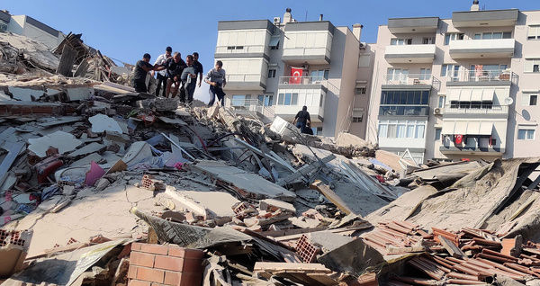 شمار قربانیان زلزله ترکیه به ۶۹ نفر رسید