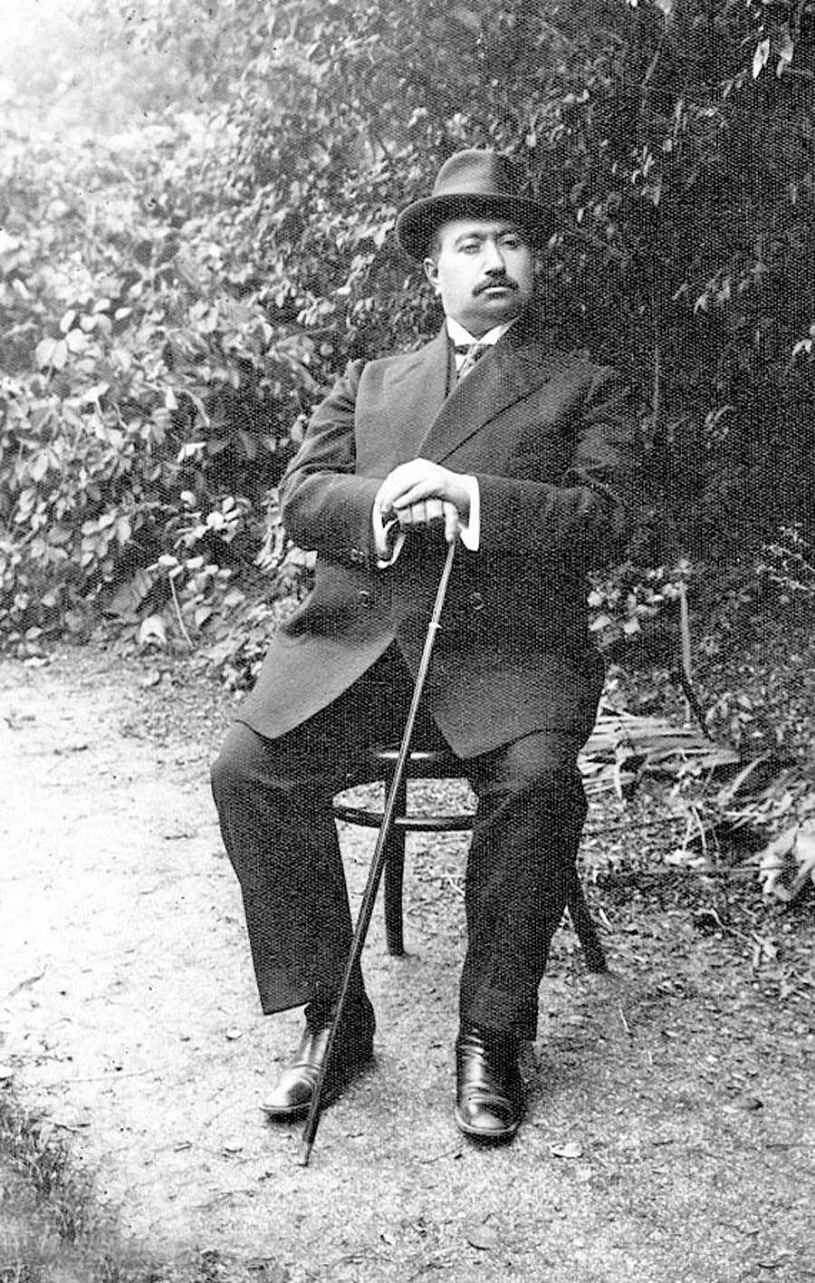درگذشت محمد علی شاه در بندر ساوونا
