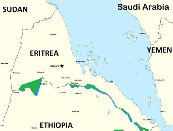 حمله موشکی به فرودگاه اریتره
