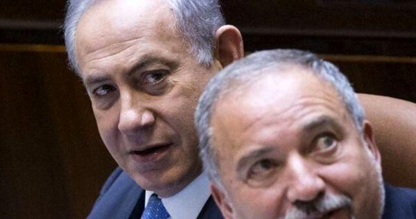 اتهام زنی لیبرمن علیه بنیامین نتانیاهو