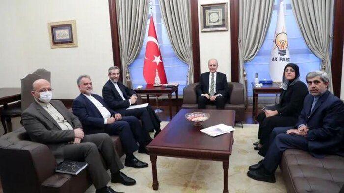 رایزنی های معاون وزیرخارجه ایران در ترکیه