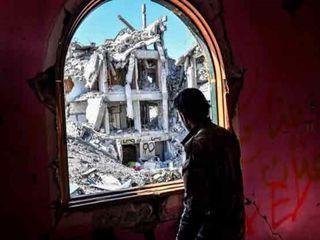 تصاویری از شهر رقه پس از آزادی