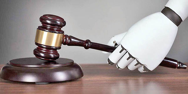 هوش مصنوعی حوزه حقوق را دگرگون میکند