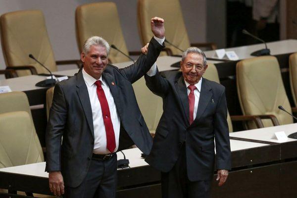 میگل دیاز کانل رهبر حزب کمونیست کوبا شد