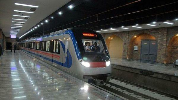 خط ۶ متروی تهران فردا جمعه سرویس دهی ندارد