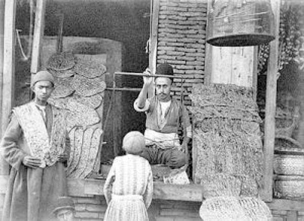 انواع نان در دوره قاجار