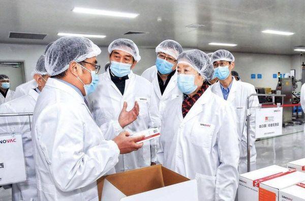 آمادگی چین برای تولید انبوه واکسن های کرونا