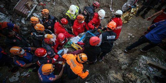 شمار قربانیان زلزله ترکیه به ۳۵ نفر رسید