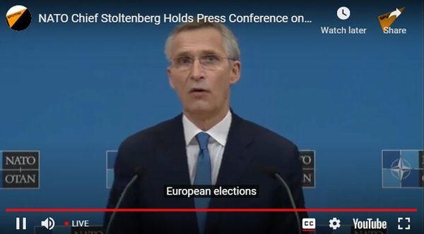 استولتنبرگ: آمریکا و اروپا علیه چین متحد شوند