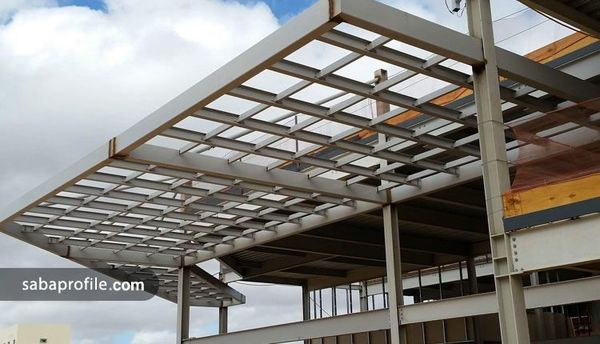 کاربرد انواع پروفیل در ساختمان ها و سازه های فلزی