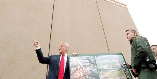 بایدن ساخت دیوار مرز با مکزیک را متوقف میکند