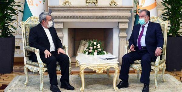 جزئیات دیدار وزیر کشور با رئیس جمهور تاجیکستان