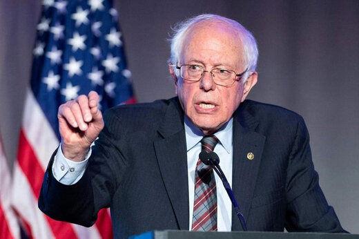 واکنش سندرز به تلاش برای رد پیروزی بایدن