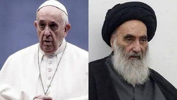 واکنش دفتر آیتالله سیستانی به انتشار برنامه سفر پاپ به عراق