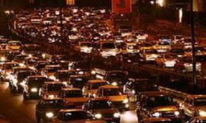 ترافیک سنگین در جادههای البرز